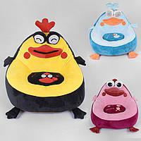 Детское кресло игрушка Птички