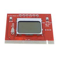 POST-card  PCI-LCD (много режимов, подробности на экране, нов.)