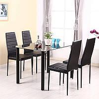 Комплект кухонной мебели: столик кухонный обеденный + 4 кресла