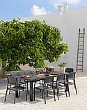 Крісло Bora NARDI 58,5Х57Х86 см caffè, фото 2