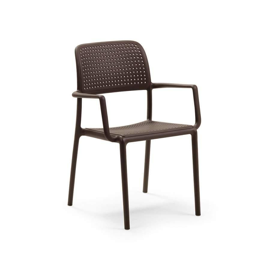 Крісло Bora NARDI 58,5Х57Х86 см caffè