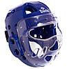Шлем для тхэквондо с пластиковой маской BO-5490 DADO (р-р S-L, цвета в ассортименте)