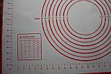 Кухонный коврик для выпечки 60 х 40 см, фото 3