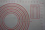 Кухонный коврик для выпечки 60 х 40 см, фото 4