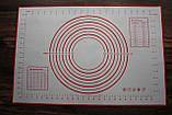 Кухонный коврик для выпечки 60 х 40 см, фото 2