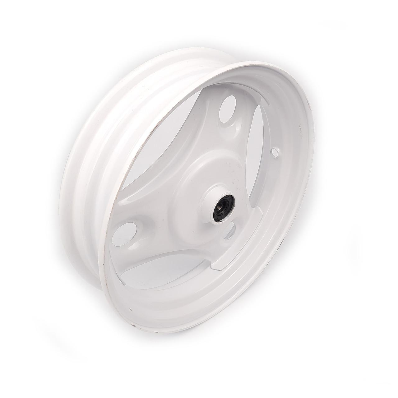 Диск колеса передний 10*2.50 Honda DIO железный +подшипники, пыльник