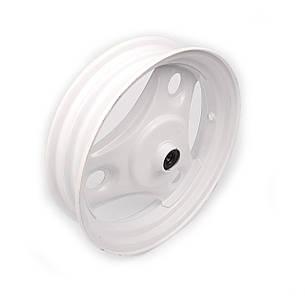 Диск колеса передний 10*2.50 Honda DIO железный +подшипники, пыльник, фото 2