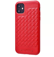 Кожаный чехол Ravel Leather Case для iPhone 12 mini Red