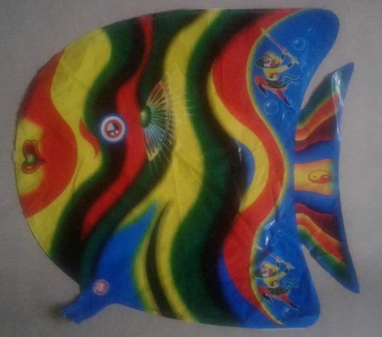 Шар воздушный фольга Рыбка № U-26-3  50*50см