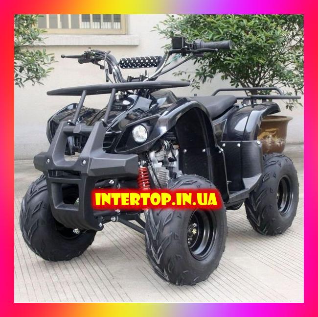 Квадроцикл електричний з мотором 800W HB-EATV800N-2(MP3) V3 чорний для дітей від 6 років. Швидкість до 20 км/год