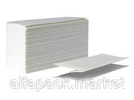 Рушник паперовий V складка, 2х шаровий білий 070200107