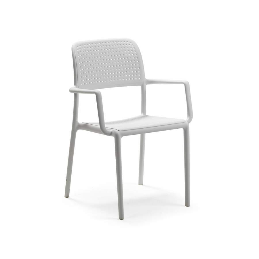 Крісло Bora NARDI 58,5Х57Х86 см bianco