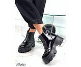 Ботинки демисезон спереди на молнии, фото 4