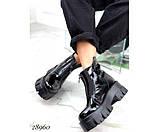 Ботинки демисезон спереди на молнии, фото 5