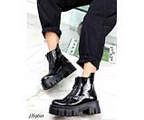 Ботинки демисезон спереди на молнии, фото 6