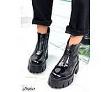 Ботинки демисезон спереди на молнии, фото 7