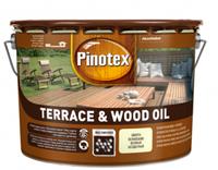 Масло для защиты террас и садовой мебели Pinotex Wood&Terrace Oil