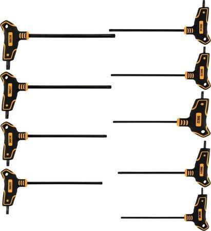 Набір шестигранних ключів Т-образних Т10-T50 9 шт. Vorel 56639 (Польща)