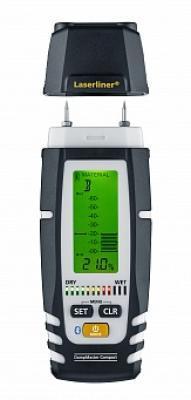 Профессиональный влагомер c Bluetooth DampMaster Compact Plus Laserliner 082.321A