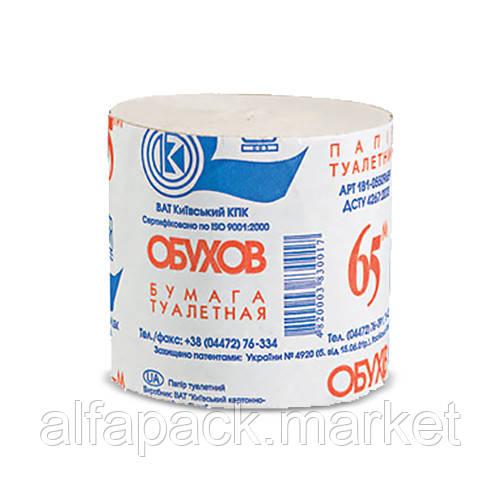 Туалетная бумага макулатурная 60м(8шт/ упаковка) 070200090