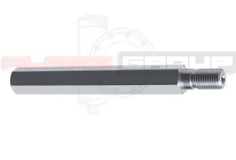 Подовжувач алюмінієвий для алмазної коронки 1 1/4, L 300 мм