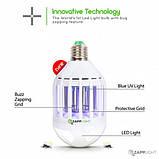 Светодиодная лампа приманка уничтожитель насекомых Zapp Light, фото 2