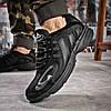 Кроссовки мужские Adidas Galaxy черные , фото 4