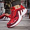 Кроссовки мужские Adidas Galaxy красные , фото 4