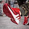 Кроссовки мужские Adidas Galaxy красные , фото 5