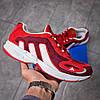 Кроссовки мужские Adidas Galaxy красные , фото 7