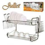 Сушилка для посуды Stenson MH-0067 Julliet на 2 яруса, фото 2