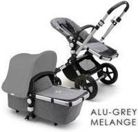 Bugaboo Cameleon 3 Plus Alu-Grey Melange Głęboko Spacerowy + Fotelik