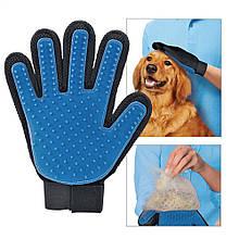 Перчатка для вычесывания шерсти True Touch (VJ304-1260-ПерчTrueTouch)!!!