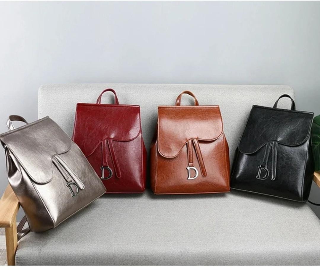 Женские сумки-рюкзаки из искусственной кожи