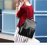 Женские сумки-рюкзаки из искусственной кожи, фото 6