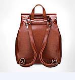 Женские сумки-рюкзаки из искусственной кожи, фото 7