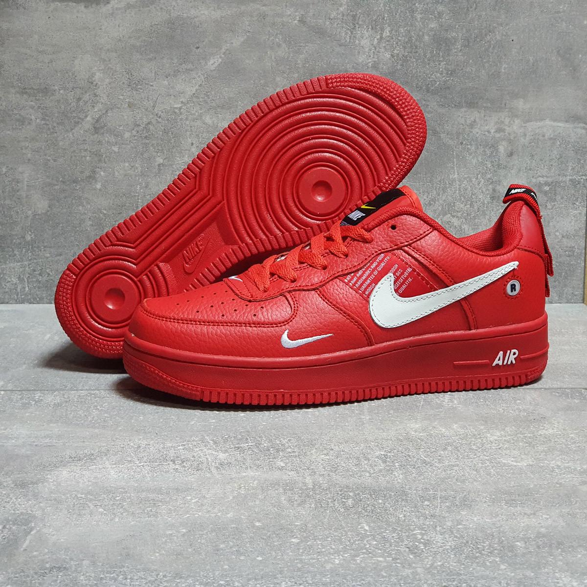 Кроссовки мужские Nike Air красные