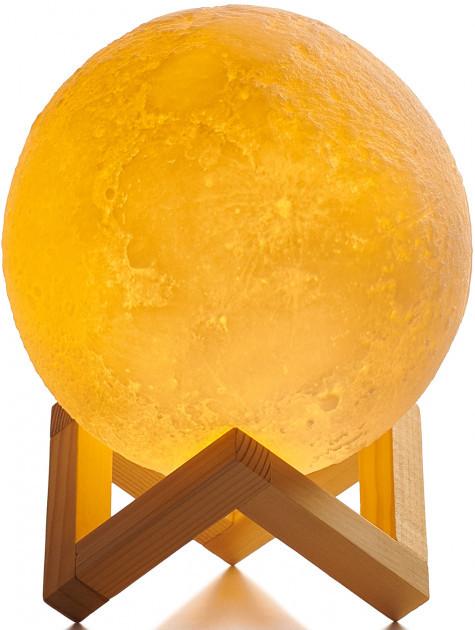 Детский Ночник светильник Луна 3D AVVS tech Moon