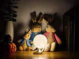 Детский Ночник светильник Луна 3D AVVS tech Moon, фото 5