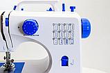 Швейная машинка оверлок Digital 12в1 Белая (FHSM-506), фото 7