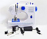 Швейная машинка оверлок Digital 12в1 Белая (FHSM-506), фото 8