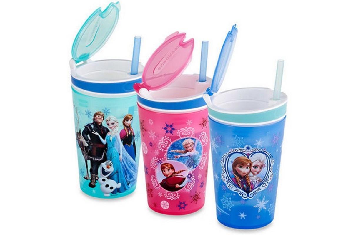 Кружка непроливайка Frozen Disney для детей