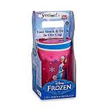 Кружка непроливайка Frozen Disney для детей, фото 2