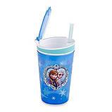 Кружка непроливайка Frozen Disney для детей, фото 4