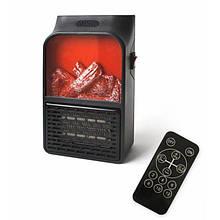 Портативный обогреватель c LCD дисплеем Flame Heater Plus 500W с имитацией камина!!!!