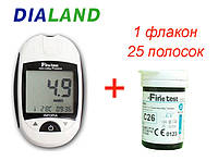 Глюкометр Файнтест Премиум (Finetest Premium) + 25 полосок