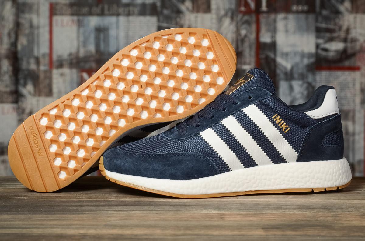 Кроссовки мужские Adidas Iniki темно-синие
