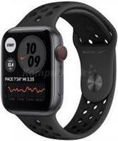 Apple Watch 6 Nike Cellular Koperta 44mm Gwiezdna Szarość z Aluminium z Paskiem sportowym Czarnym (M09Y3WBA)