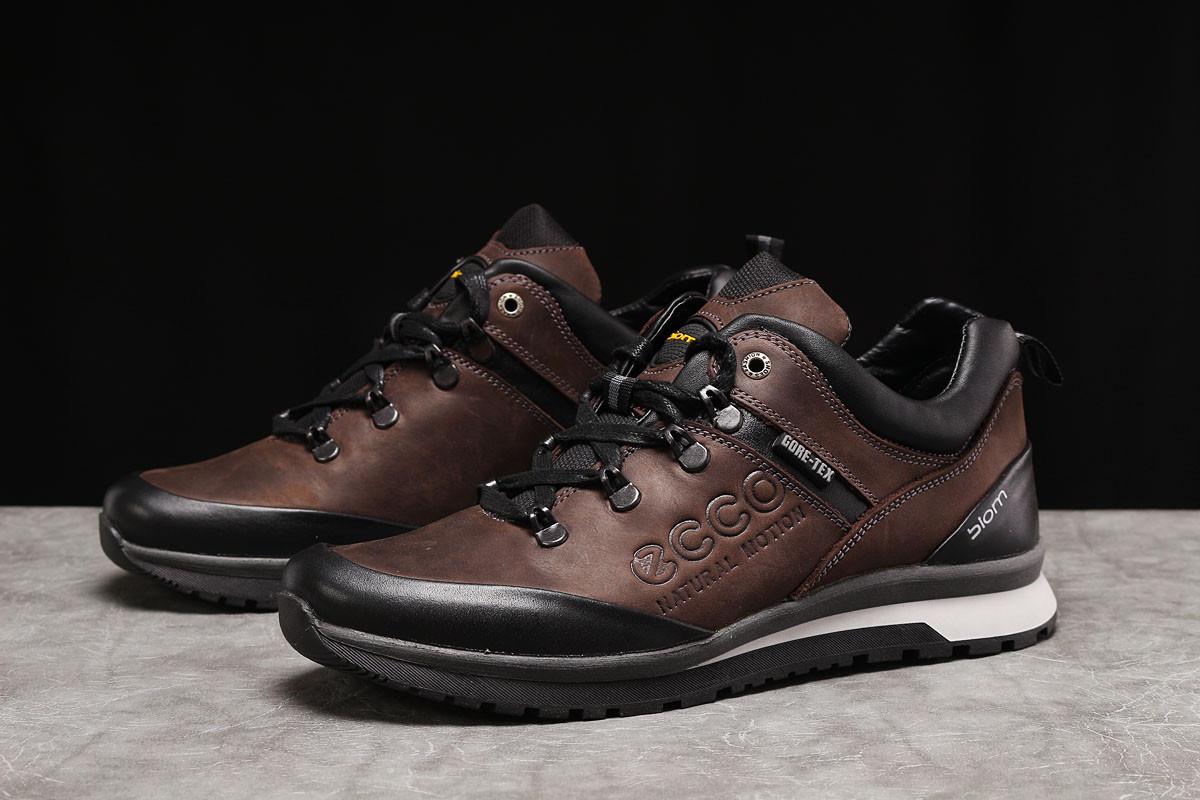Кроссовки мужские Ecco Biom коричневые
