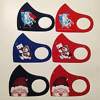Защитная Маска Питта принт Likee многоразовая маска, фото 1
